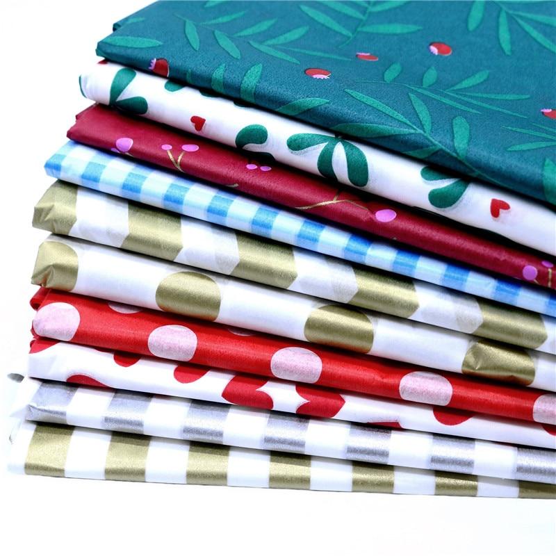 1 Juego de papel tisú impreso de 50x66 Cm para envolver Navidad, manualidades de papel, papel de regalo, decoración para el hogar, bodas, Origami, suministros para álbum de recortes