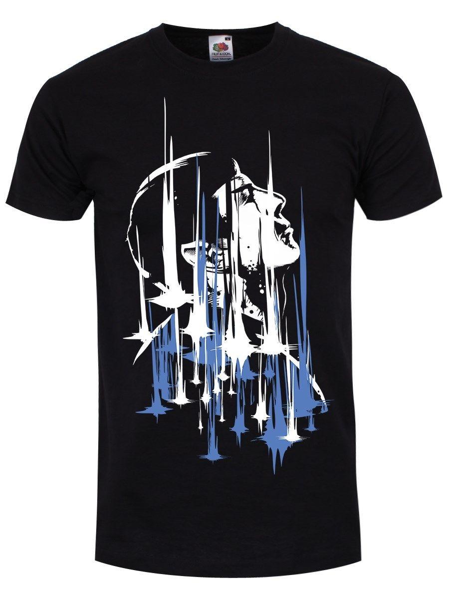 Leonard Nimoy Spock Beam Me Up camiseta negra para hombre nuevo vestido de Primavera Verano de manga corta pantalón corto Casual manga de marca