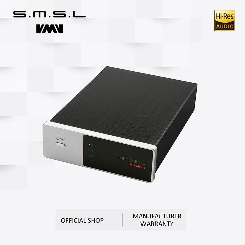 محول رقمي إلى تناظري SMSL Sanskrit-PRO DAC, يدعم 32 بت/384 كيلو هرتز DSD512 ، فك تشفير USB/بصري/محوري