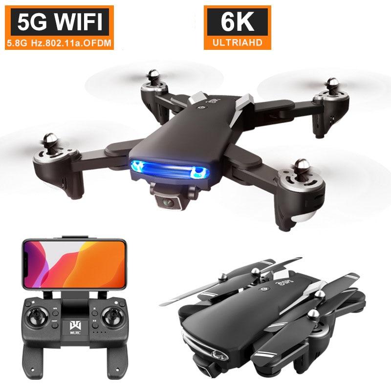 كاميرا 6K عالية الجودة قابلة للطي مزودة بنظام تحديد المواقع العالمي 5G 23 MINTES وقت الطيران 500 متر التحكم عن بعد dji Rc طائرة بدون طيار برو