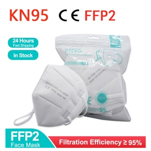 2-100 pieces Reuseable KN95 Mask Safety Dust Respirator Mask Face Masks Mouth Dustproof Protective Mascarillas FPP2 Kn95Mask