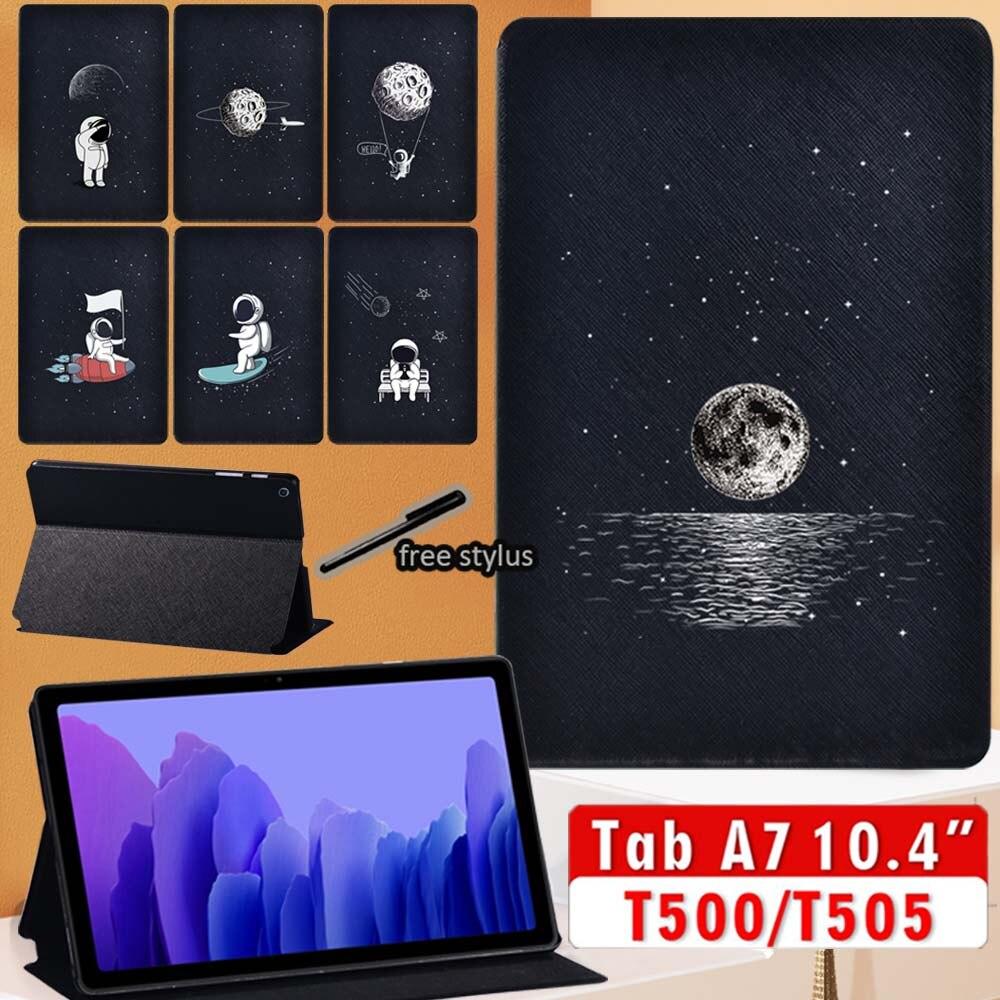 Чехол для Samsung Galaxy Tab A7 2020 Φ 10,4 дюймов, чехол для планшета из искусственной кожи для Galaxy Tab A7 T500 T505, чехол чехол для samsung galaxy tab a7 2020 чехол для планшета из искусственной кожи для samsung galaxy tab a7 sm t500 t505 t507 10 4 дюймов