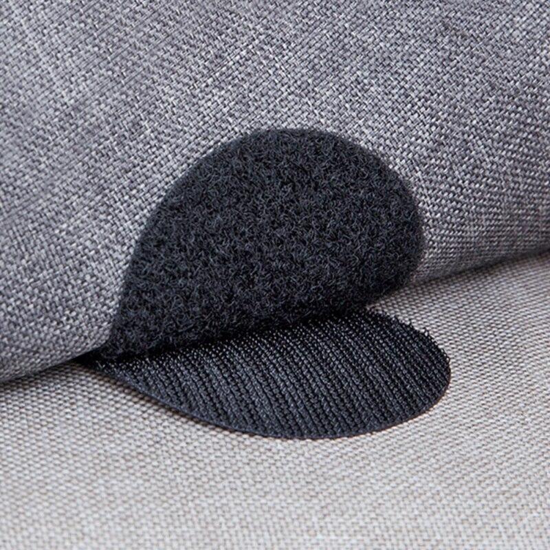 10 Uds sofá cojín Velcro adhesivo moderno sin almohadilla de sello hebilla muebles hoja fija adhesivo Velcro
