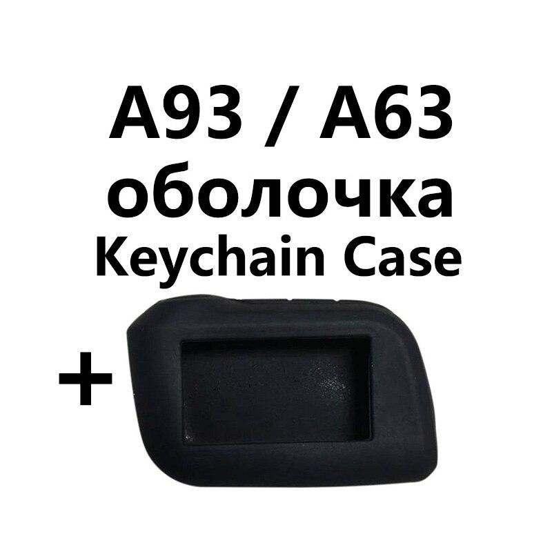 A93 Key Body Case for Starline A93 A63 A96 A69 A39 A36 two way Car Alarm LCD Remote Control Keychain