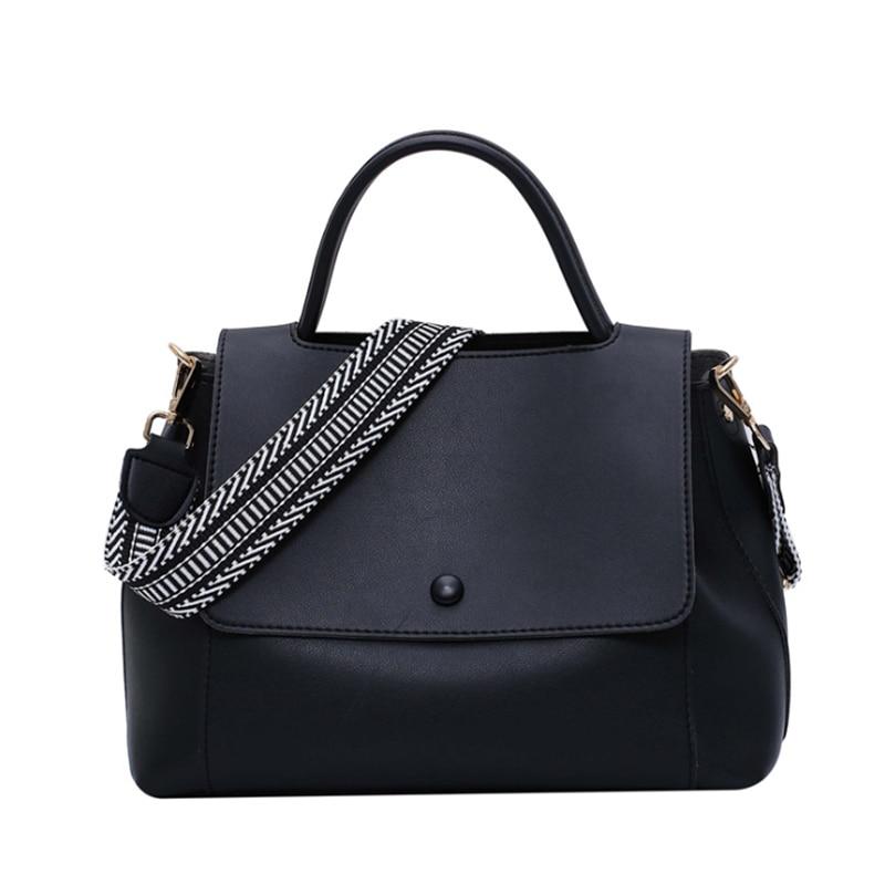 Fashion Simply PU Leather Crossbody Bag For Women Solid Color Shoulder Messenger Bag Lady Chain Travel Small Handbag