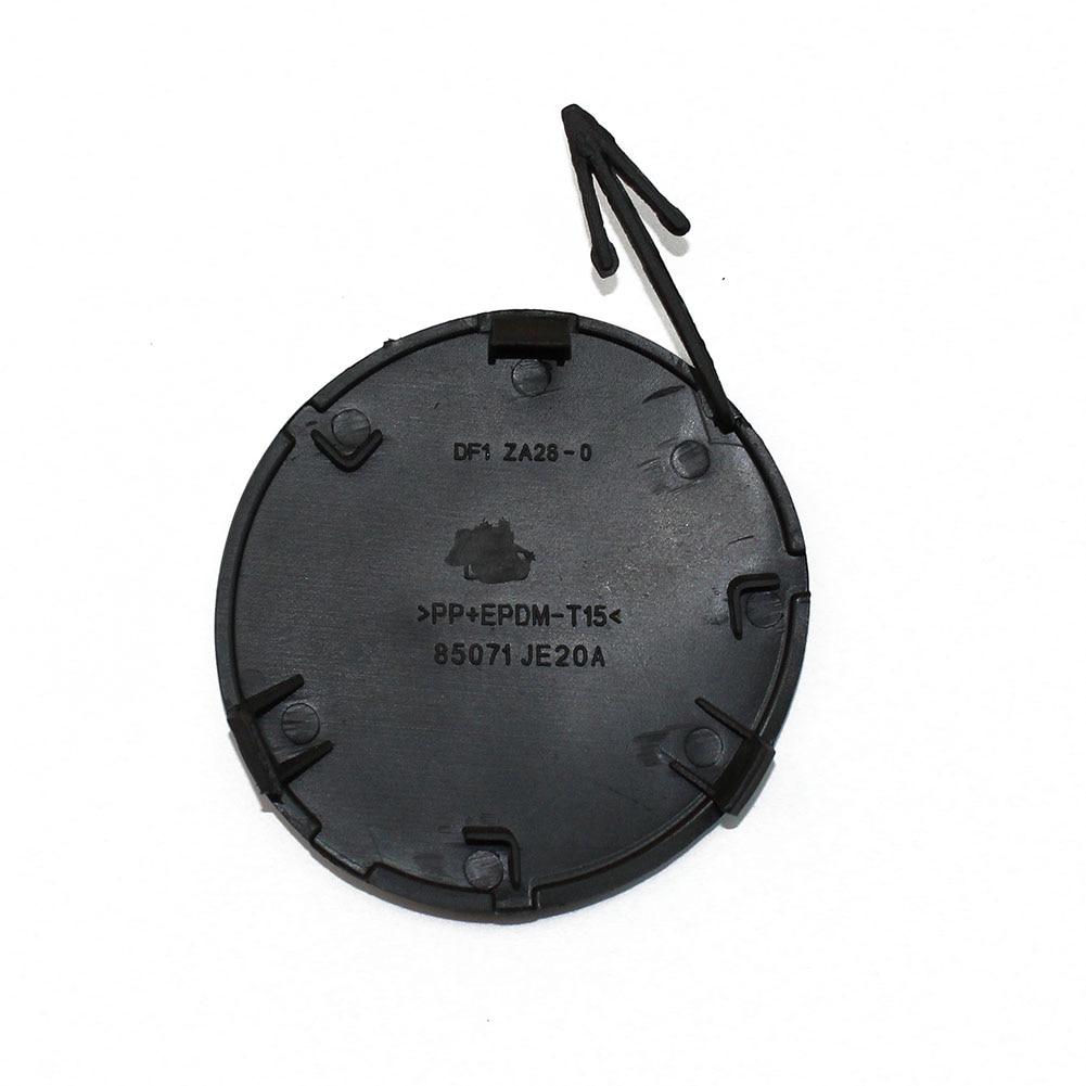 Cubierta de ojo de gancho de remolque de parachoques trasero LARBLL negro 85071-JE20A para Nissan Qashqai J10 2007-2013
