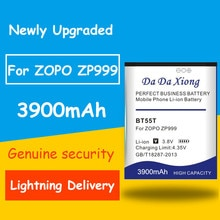 Vente chaude 3900mAh BT55T Batterie pour ZOPO 999 998 9530 9520 3X ZP998 ZP999 ZP3X ZP9520 ZP9530