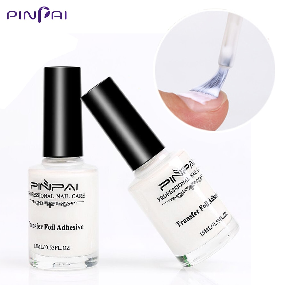 10ml Nail Foil Adhesive Glue Art Starry Sky White Star for Foils Transfer Sticker Paper Decoration Accessory
