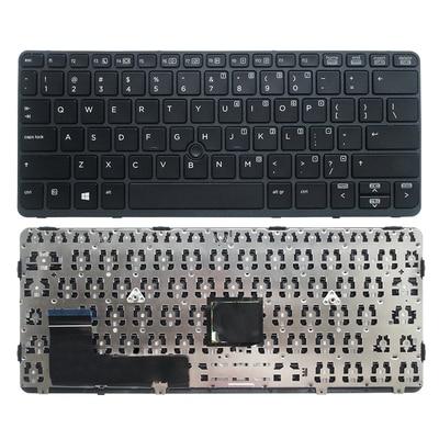 لوحة مفاتيح بديلة لجهاز HP EliteBook 820 G1 820 G2 ، جديد للكمبيوتر المحمول