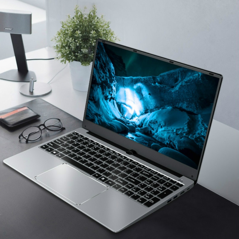Review 16G RAM i5-8250U Metal Laptop Backlit Keyboard SSD PC 15.6 Inch Office Notebook Office Computer Business Working Travel Netbook