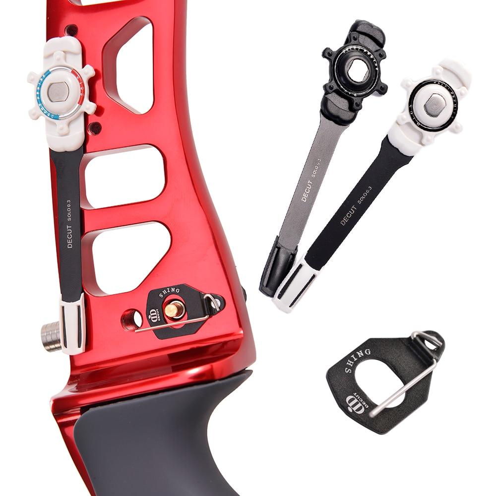 Decut arco clicker seta clicker sinal + seta magnética resto para arcos recurvos-1 conjunto