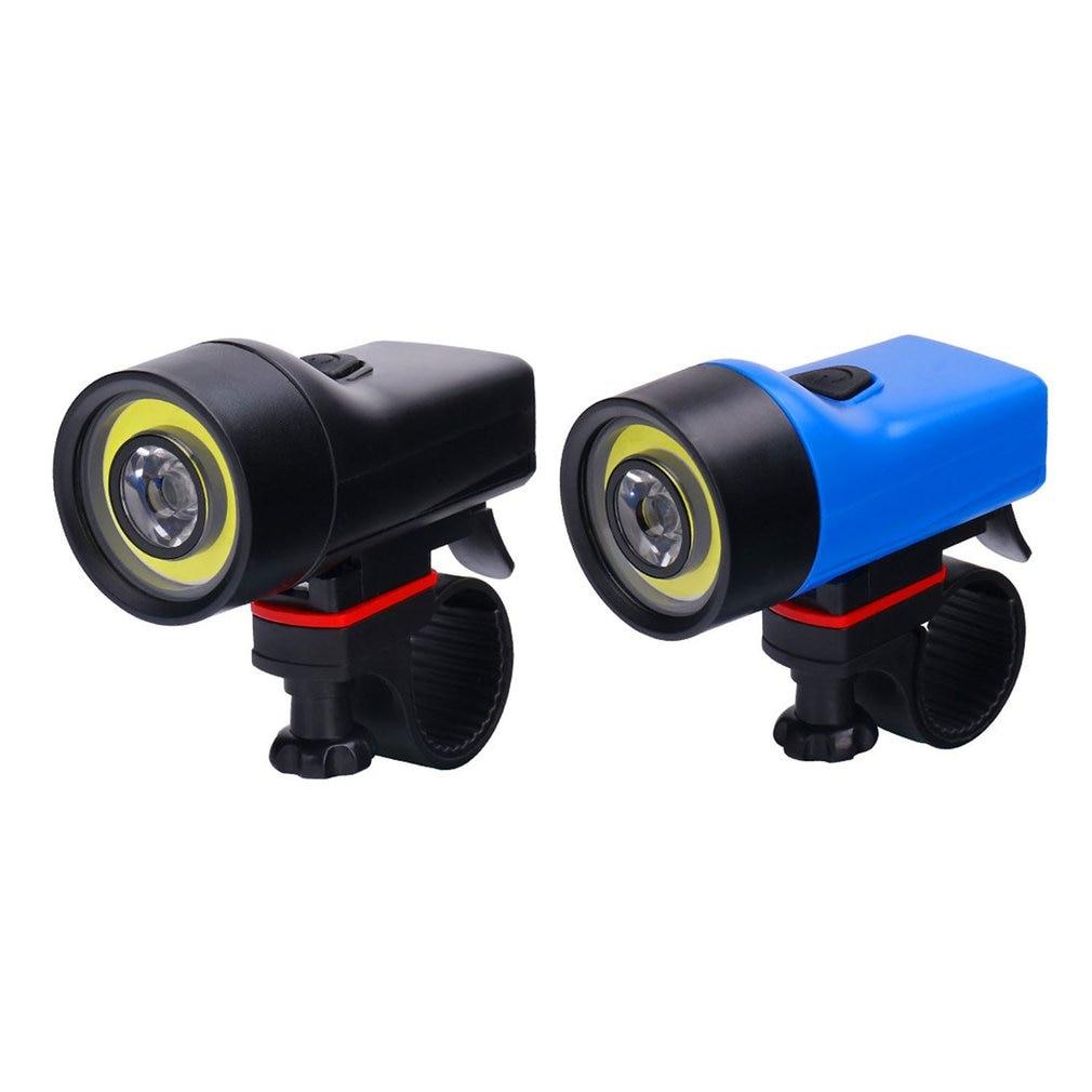 Wasafire bicicleta nueva luz de conducción al aire libre resaltar faros COB bicicleta de montaña seguridad de conducción nocturna luces de advertencia