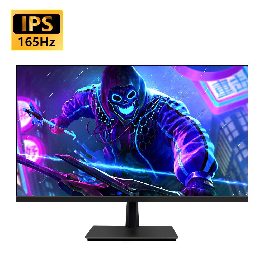 MUCAI 27 بوصة الكمبيوتر IPS مراقب 144 هرتز شاشة الكريستال السائل HD 165 هرتز سطح المكتب كمبيوتر ألعاب شاشة مسطحة لوحة HDMI/DP
