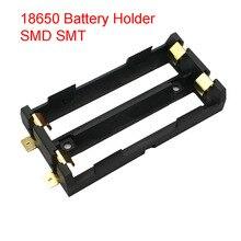 2X18650 Batterie Halter SMD SMT Hohe Qualität Batterie Box Mit Bronze Pins
