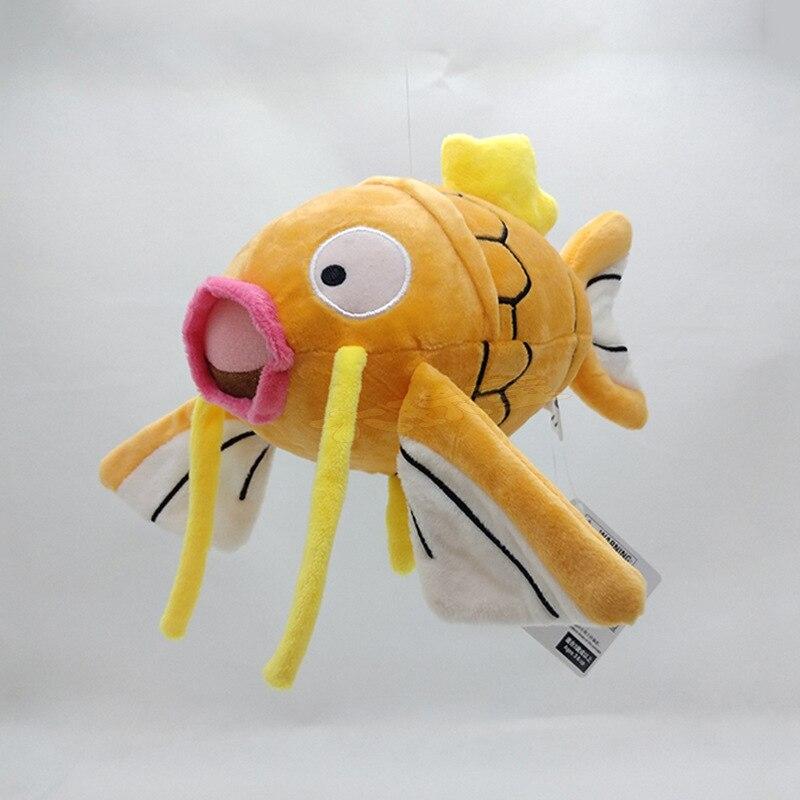 Takara Tomy muñeca de peluche Pokemon Magikarp pez Animal juguetes 20cm