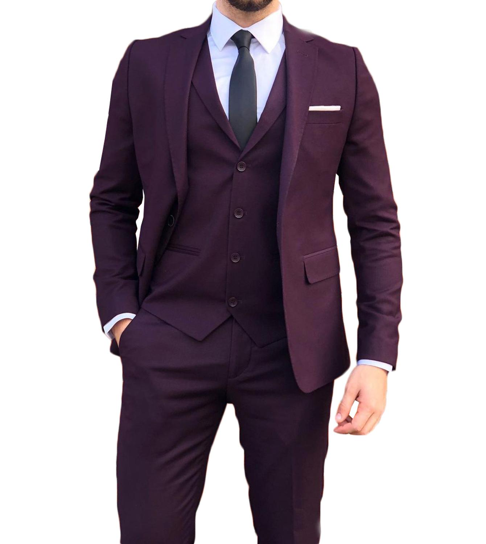 3 قطع مخصص الرجال دعوى 2021 جديد الأزياء سينجال الصدر نحيل الذكية Cacual الزفاف الذكور مساء جزء ارتداء