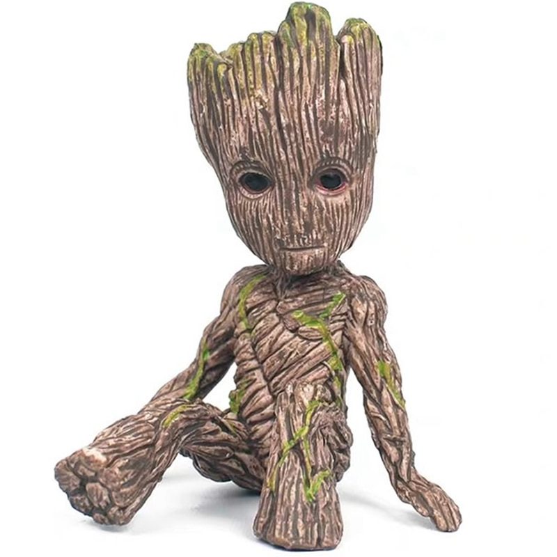 6CM Disney Guardians Of The Galaxy Tree Man Groot Action Toy Figure Doll Model Cartoon Movie Marvel Avengers Mini Groot Kid Gift