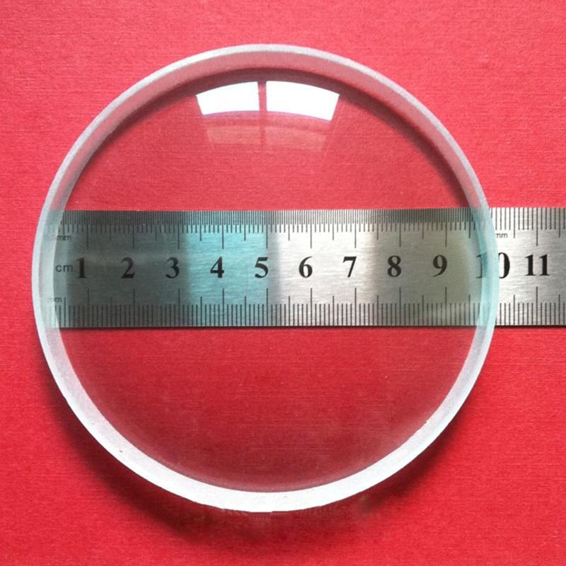 1 ud. Lente doble cóncavo de gran diámetro de 100mm longitud Focal de vidrio óptico-lente biconvexa de Minifer de 300mm