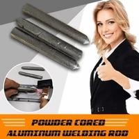 3pcs powder cored aluminum welding rod low temperature easy melt aluminum welding rods no need solder powder tool accessories