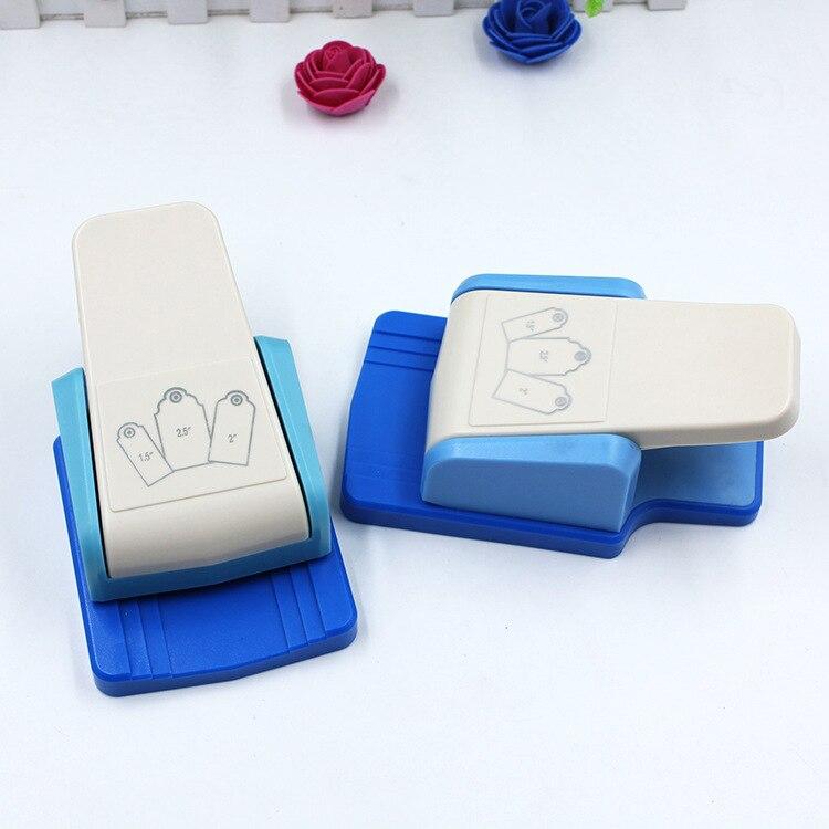 DIY etiqueta perforado educativos máquina de grabación en relieve de un arte hecho a mano agujero perforadora para Eva espuma de Puncher niños Scrapbook cortador de papel