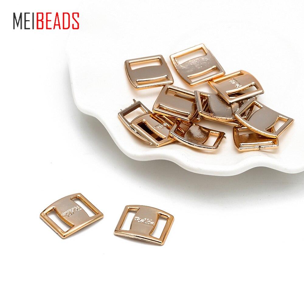 20 pçs/lote coréia acessórios para o cabelo diy artesanal cor de ouro fita para usar plástico fivela caracteres fivela decorativo remendo uf6030