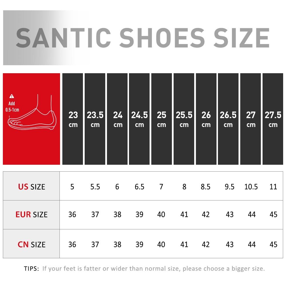 Купить с кэшбэком Santic Cycling Shoes for Men & Women Spinning Shoes Lightweight Road Bike Beginner Level Unisex Self-Locking Sneakers
