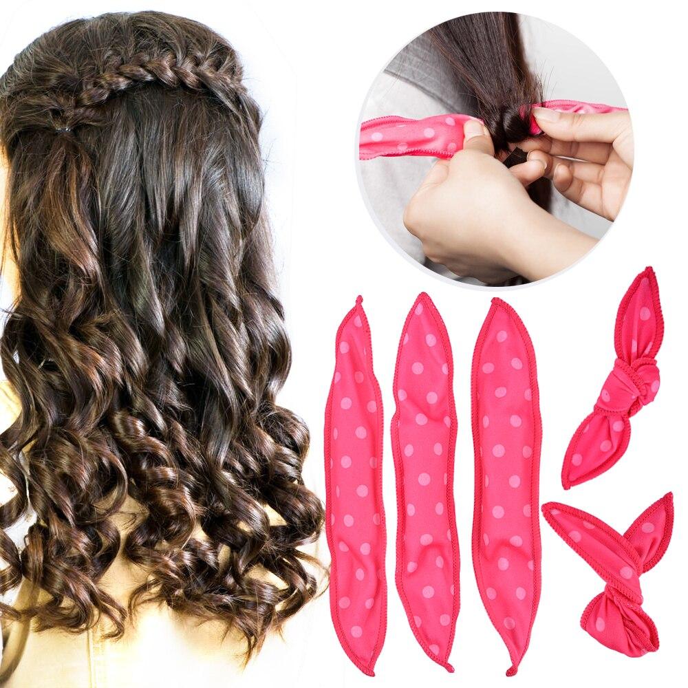 10 30 PCS Mágica Esponja Travesseiro de Espuma e Esponja Rolos de Cabelo Rolo de Cabelo Macio Melhor Flexível DIY Hair styling Rollers ferramentas onda