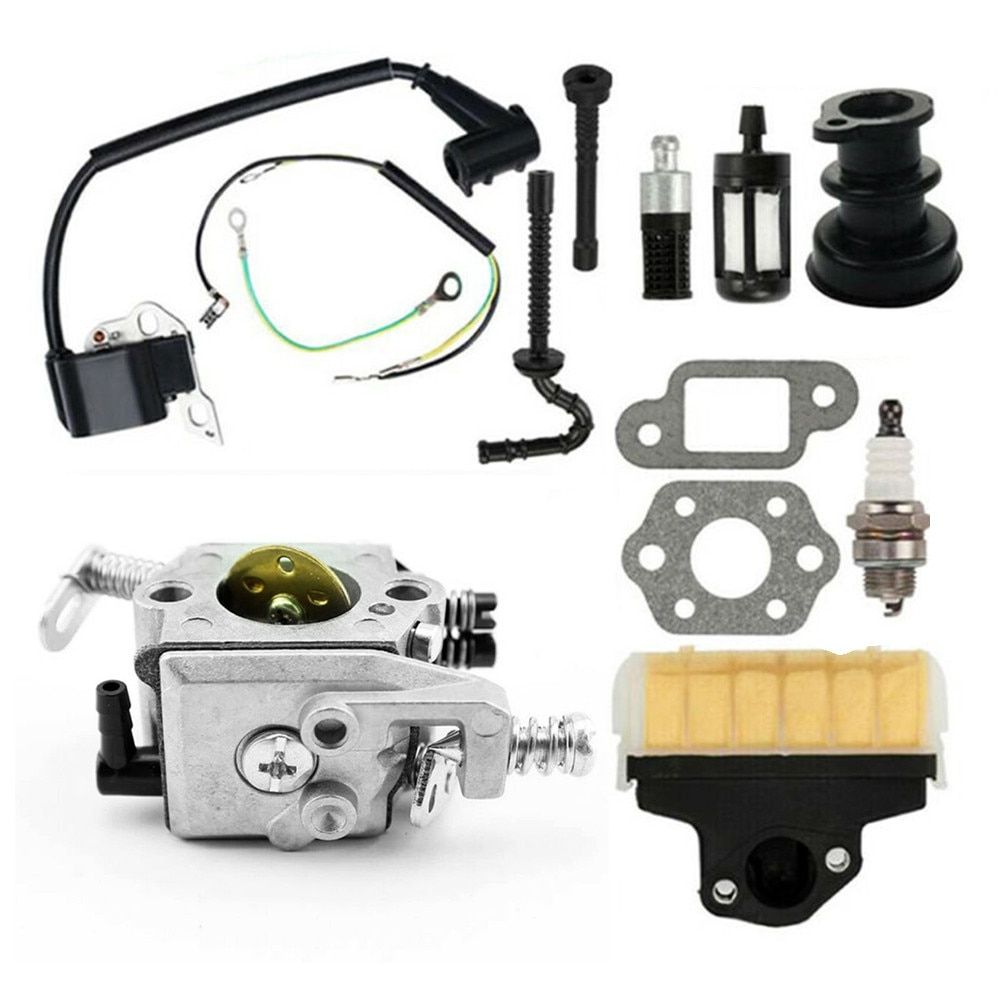 Carburetor Carb Kit Replacement Accessories Parts For Stihl 021 023 025 MS 210 MS 230 MS 250 Engine Cylinder Garden Tool