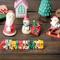 Mini Train de noel pour enfants  decoration pour la maison  jouets artisanaux  Table decorative  nouvel an 2021