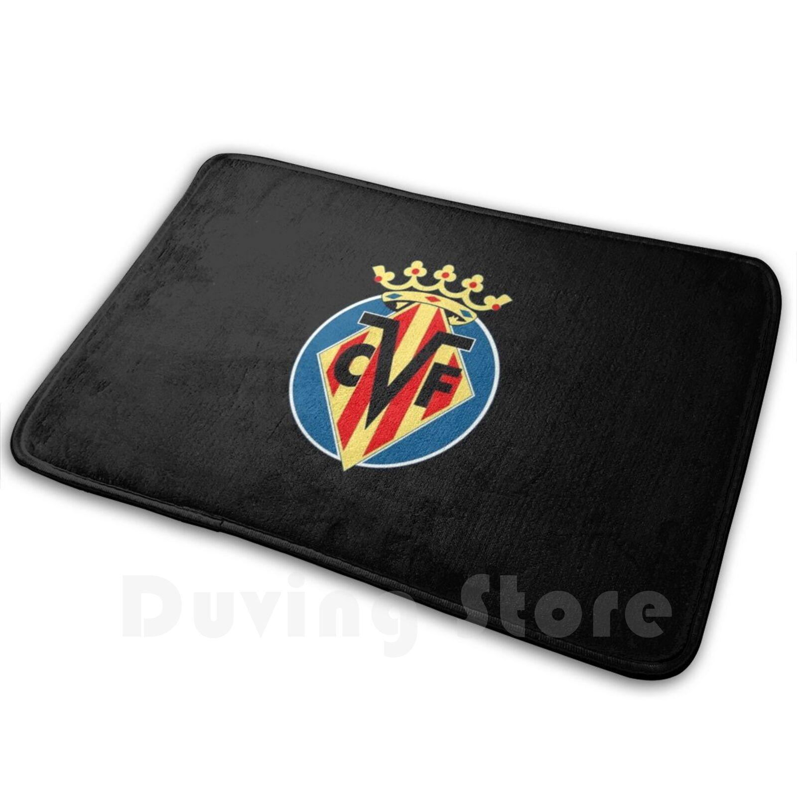 Villarreal-alfombra cómoda para la puerta, cojín de Villarreal, fútbol, deporte de fútbol,...