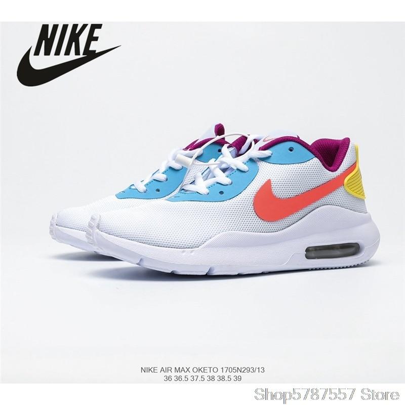 Zapatillas Nike AIR MAX OKETO de mujer, de malla transpirable, talla de zapatillas 36-39