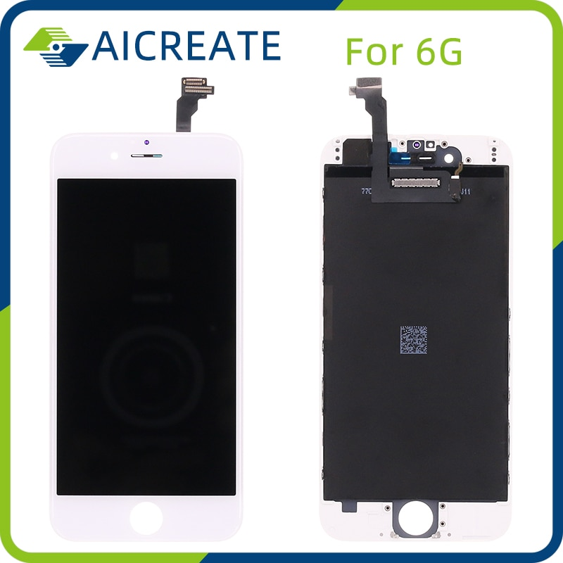 10Pcs/Lot Grade AAA High Quality Screen For iPhone 6 LCD Display Assembly Replacement enlarge