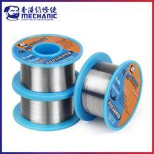 Mecânico 40g 0.2/0.3/0.4/0.5/0.6/0.8/63/37mm 1.0 rosin núcleo estanho-chumbo 183reel fio de solda de fusão fluxo 3.0%-carretel de cabo de ferro