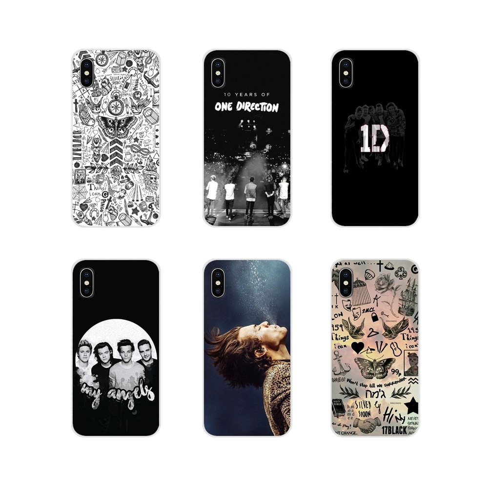 Uma direção 1d harry zayn capa de escudo do telefone móvel para apple iphone x xr xs 11 12pro max 4S 5S 5c se 2020 6s 7 8 plus ipod 5 6