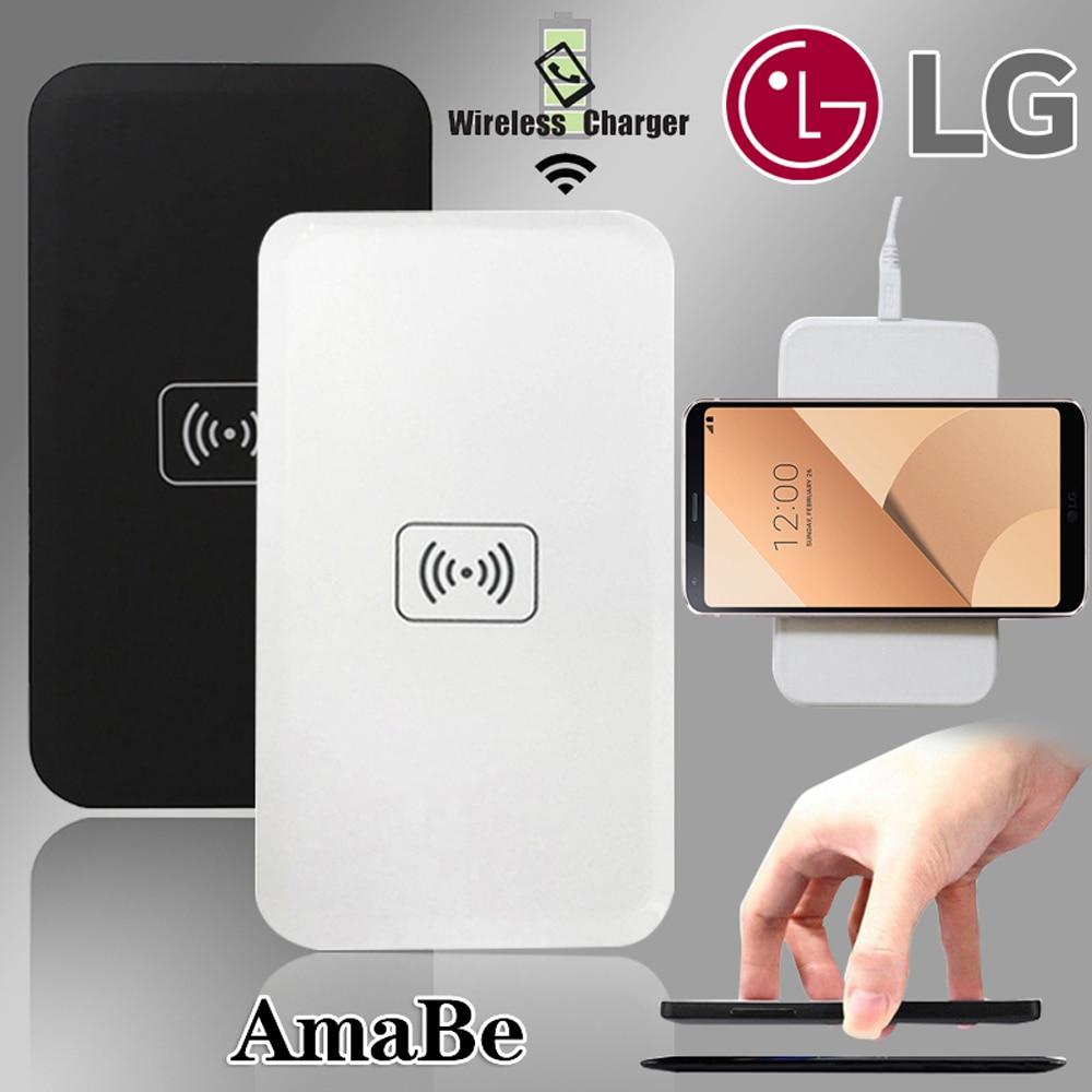 For  LG D1L / G / 2/ 3/ 4/ 6/ 10/ V30/ V30S/ Lte2/ Lucid 2/3 -QI Quick Wireless Charger USB Fast Charging Pad Dock
