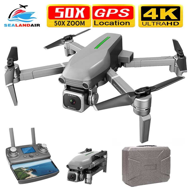 2020 zangão câmera hd 4 k x50 zoom rc quadrocopter profissional 5g wifi fpv sem escova dobrável quadcopter zangão gps 1000 m distância