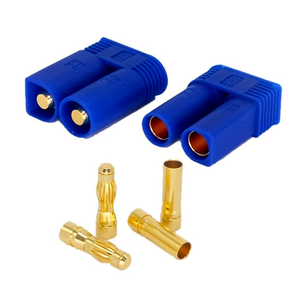 10Pairs 5mm100A Male and Female EC5 Connector Plug RC LiPo Battery Charge Adapter