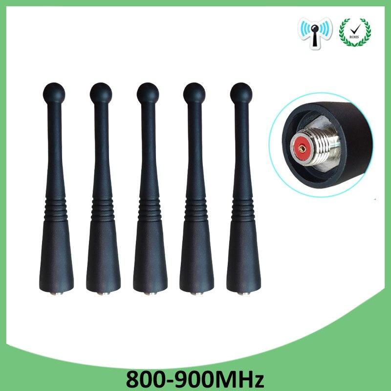 Auto talkie per motorola di un antenna per e398 g6 razr v3i e5 p30 sma uhf walkie talkie tattico per baofeng uv-5r vhf dmr 430mhz