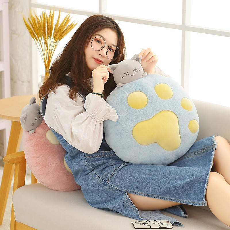 20cm cute kawaii cat with bow plush dolls toys gift stuffed soft doll cushion sofa pillow gifts xmas gift party decor New 1PC 35CM Plush Cat Toys Stuffed Animal & Plush Toys Soft Cat Pillow Stuffed Cat Doll For Kids Girl Gift Sofa Pillow Cushion