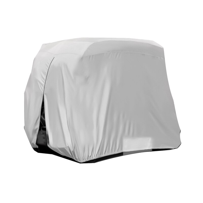 HOLVWOW 120D Oxford Cloth Protect Practical 4 Passenger Body Outdoor Sports Golf Cart Cover Accessories Dust Prevention