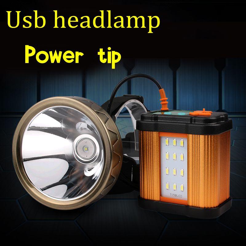 High quality 2018  usb cree xml led xpg headlamp recgargeable powerfull outdoor spotlight headlight for hunting fishing  camping enlarge