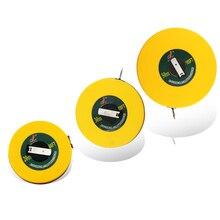 3 Types 20m/30m/50m ruban à mesurer mesure de Site en fibre de verre règles souples bâtiment arpentage outil de mesure fibre de verre