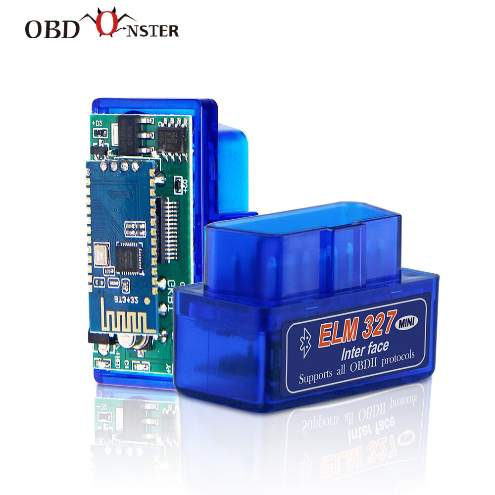 Mini V1.5 ELM327 PIC18F25K80 Bluetooth WIFI Adapter OBD2 Car Diagnostic Tool ELM 327 OBDII Code Reader obd2 for Android/IOS/PC wifi obdii scan tool elm327 for ios