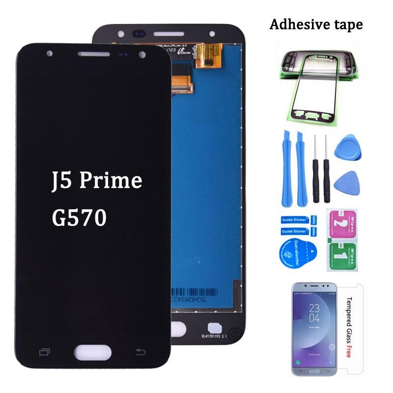"""Original Für 5,0 """"SAMSUNG J5 Prime LCD G570 G570F G570M Display Touch Screen Für SAMSUNG GALAXY J5 Prime LCD montage"""