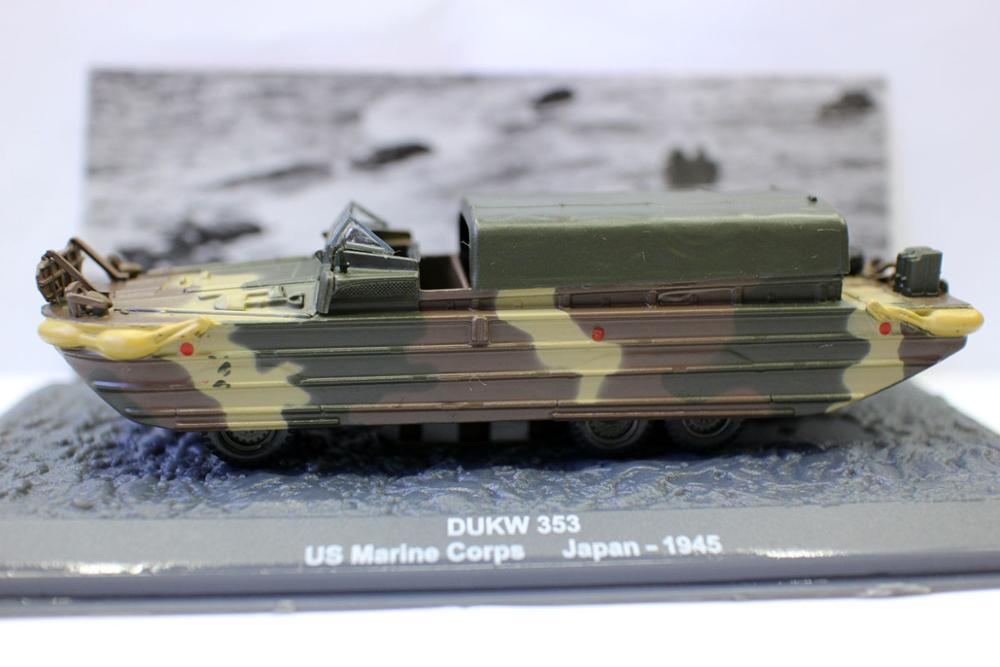 Tanque anfibio de descarga para colección, cuatrimoto Dukw 353 us marine corps...