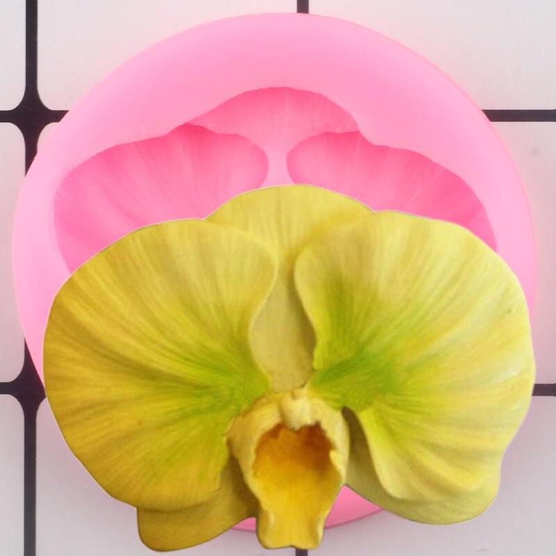 Цветок цветок силиконовые формы украшения торта инструменты Кондитерские конфеты глины помадки формы выпечки шоколада формы для мастики
