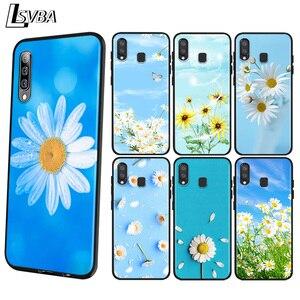 Дейзи цветочным принтом «Подсолнух» с цветами для Samsung Galaxy A90 5G A80 A70S A70 A60 A50 M30 A40 A30 A20E A10 A2 основной чехол для телефона