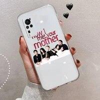 how i met your mother tv show phone case transparent for vivo v y iqoo 3 15 17 19 5 70 51 52 30 20 s se