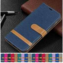Cute Denim Leather Case For Apple iPhone 13 6 6S 7 8 Plus 12 Mini 11 Pro SE 2020 X XS Max 5 5S Boys Girls Phone Cover D07F