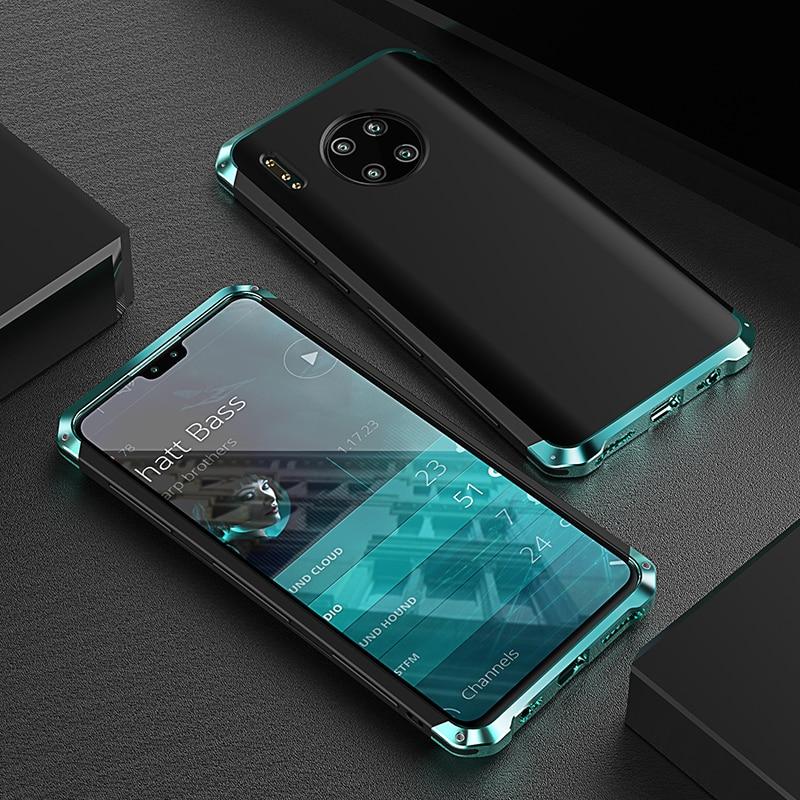 Funda de Metal a prueba de golpes para Huawei Mate 30 Pro,...